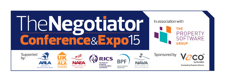 The Negotiator Conference logo & sponsors image