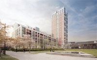 Theatre Square in Swiss Cottage image
