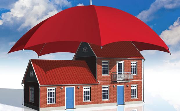 umbrella-over-house