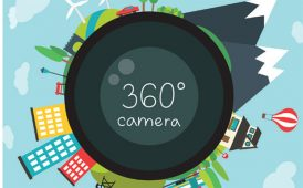 360 degree camera image