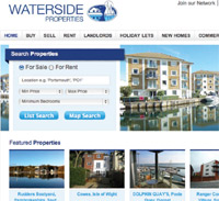 Waterside Properties website image
