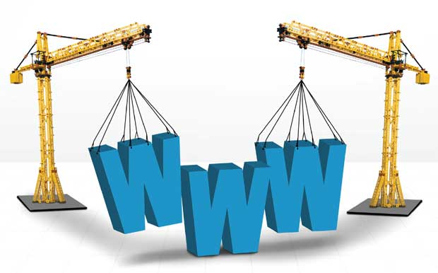 Building a website image