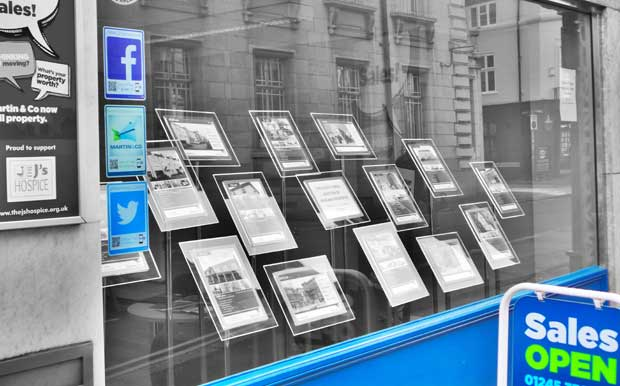 agency window display image