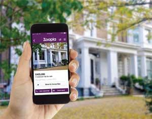 Zoopla mobile screenshot image